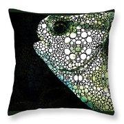 Sofishticated - Fish Art By Sharon Cummings Throw Pillow