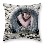 Soft And Dry Throw Pillow