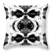 Soft And Fluffy Art Ornament Throw Pillow