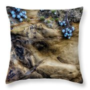Soft And Hard Throw Pillow