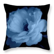 Soft Blue Perfection Throw Pillow