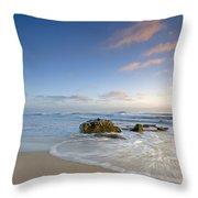 Soft Blue Skies Throw Pillow