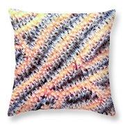 Soft Corals 10 Throw Pillow