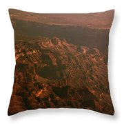 Soft Early Morning Light Over The Grand Canyon 3 Throw Pillow