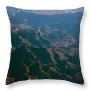 Soft Early Morning Light Over The Grand Canyon 4 Throw Pillow