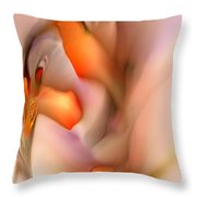 Soft Feelings Throw Pillow