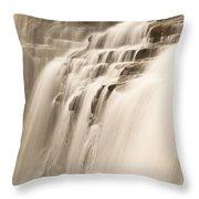 Soft Flow Throw Pillow