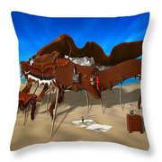 Soft Grand Piano Throw Pillow