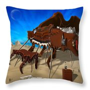 Soft Grand Piano Se 2 Throw Pillow by Mike McGlothlen