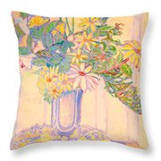 Soft Light Throw Pillow
