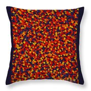 Soft Primary Throw Pillow