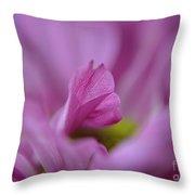 Soft Purple Throw Pillow