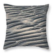 Soft Ripples Throw Pillow