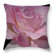 Soft Shade Of Pink Throw Pillow