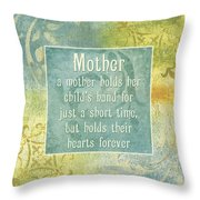 Soft Spa Mother's Day 1 Throw Pillow