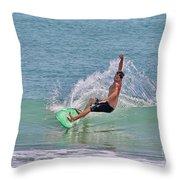 Soft Surf Throw Pillow