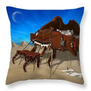 Softe Grand Piano Se Throw Pillow by Mike McGlothlen