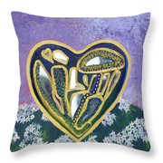 Softened Heart Best Reflections Energy Collection Throw Pillow