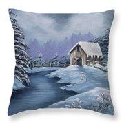 Softest Snow Throw Pillow