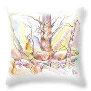 Softly Speaking Throw Pillow