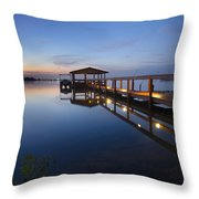 Softly The Morning Arrives Throw Pillow