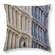 Soho Architecture Throw Pillow