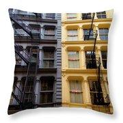 Soho New York Throw Pillow