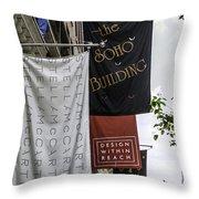 Soho - Nyc Throw Pillow