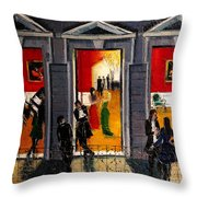 Soiree Parisienne Throw Pillow