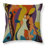 Sojourners Throw Pillow