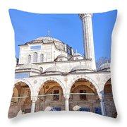 sokullu pasa camii Mosque 03 Throw Pillow