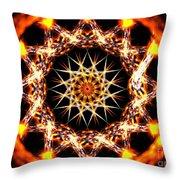 Solar Alignment Throw Pillow
