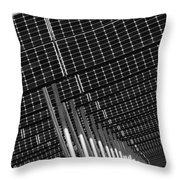 Solar City Throw Pillow