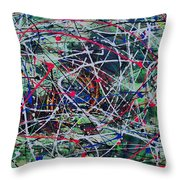Solar Flare Throw Pillow