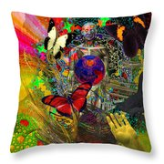 Solar Giveth Life  Throw Pillow