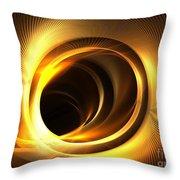 Solar Mass Throw Pillow