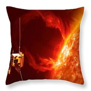 Solar Orbiter Throw Pillow