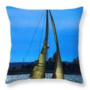 Solar Sail Throw Pillow
