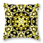 Solar Steel Throw Pillow