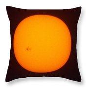 Solar Wabi Sabi Throw Pillow