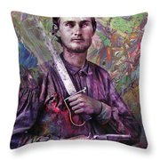 Soldier Fellow 1 Throw Pillow
