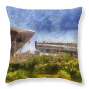 Soldier Field West Side Photo Art 02 Throw Pillow