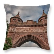 Soldiers And Sailors Memorial Arch Throw Pillow