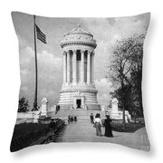 Soldiers Memorial - Ny Throw Pillow