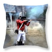 Soldiers Of The King Throw Pillow