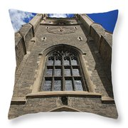 Soldiers Tower 3 Throw Pillow