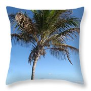 Sole Palm Throw Pillow