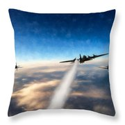 Wounded Warrior - Pastel Throw Pillow