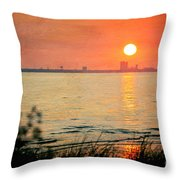 Solemness Throw Pillow