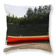 Solemnly Throw Pillow